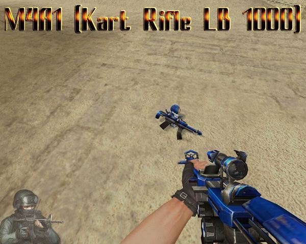M4A1 (Kart Rifle LB 1000) для css
