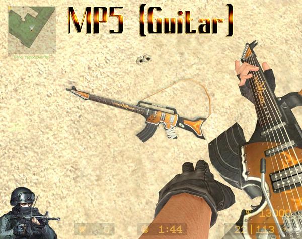MP5 (Guitar) для css