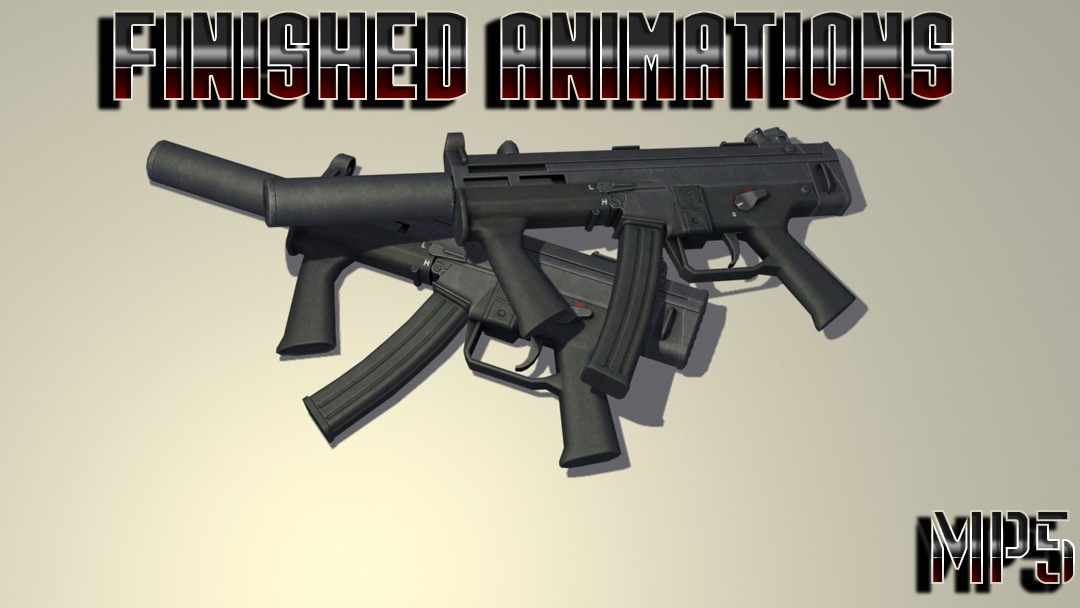 Finished animations MP5 для css - Скачать