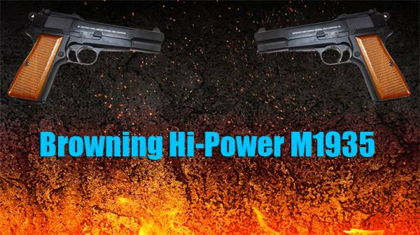 Browning Hi-Power M1935 для css